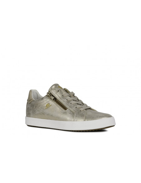 SNEAKERS GEOX MUJER CASUAL SPORT ORO