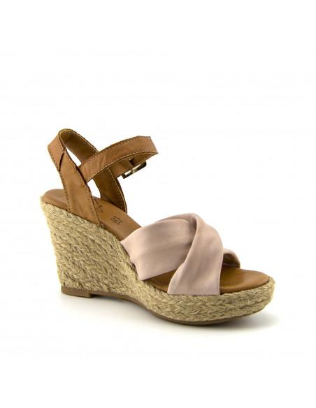 Marca Top3 Nude Fabricada De Para Color Con Sandalia Piel Chica WEDH29YI